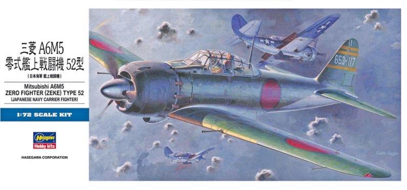 Hasegawa Mitsubishi A6M5 Zero Fighter Type 52 (Zeke)