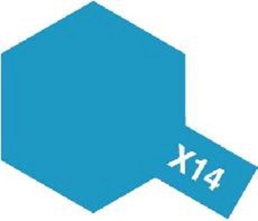 Tamiya Barva emailová lesklá - Nebesky modrá (Sky Blue) X-14