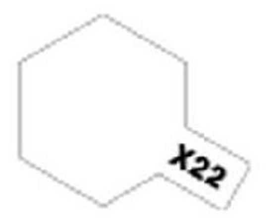 Tamiya Barva emailová lesklá - Čirý lak (Clear) X-22