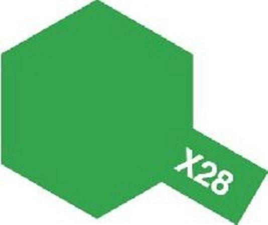 Tamiya Barva emailová lesklá - Parková zelená (Park Green) X-28