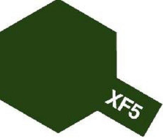 Tamiya Barva emailová matná - Zelená (Flat Green) XF-5
