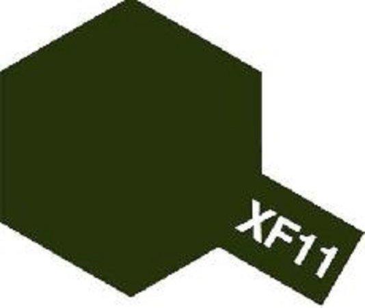 Tamiya Barva emailová matná - Japonská námořní zelená (J.N.Green) XF-11