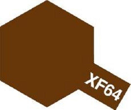 Tamiya Barva emailová matná - Červeno hnědá (Red Brown) XF-64