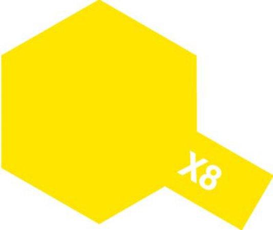 Tamiya Barva akrylová lesklá - Citronově žlutá (Lemon Yellow) - Mini X-8