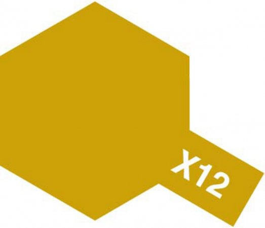 Tamiya Barva akrylová lesklá - Zlatá (Gold Leaf) - Mini X-12