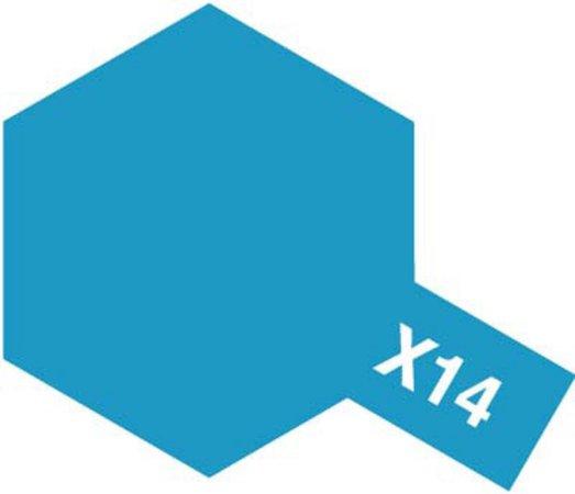 Tamiya Barva akrylová lesklá - Nebeská Modrá (Sky Blue) - Mini X-14