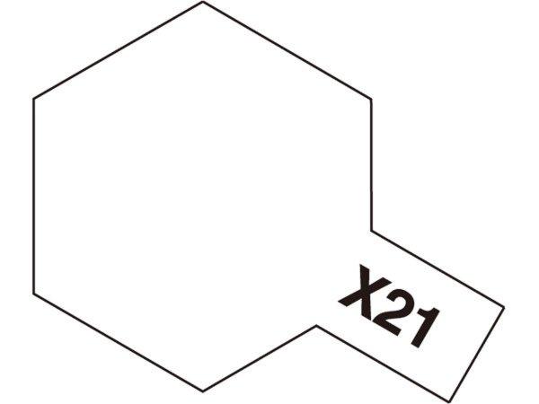 Tamiya Matovací báze - Bílá plochá (Flat Base) - Mini X-21