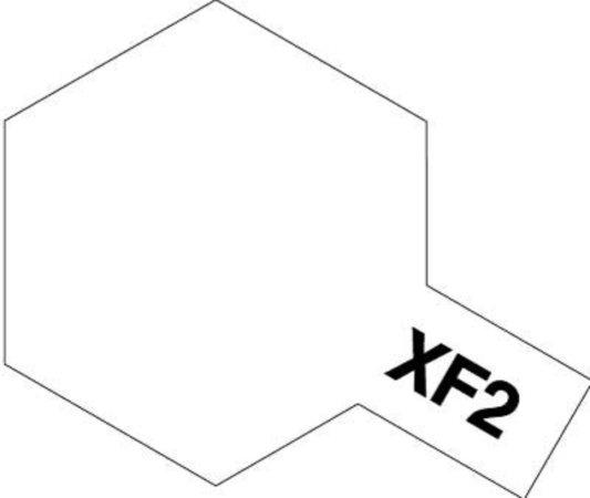 Tamiya Barva akrylová matná - Bílá (White) - Mini XF-2