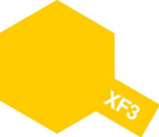 Tamiya Barva akrylová matná - Žlutá (Yellow) - Mini XF-3