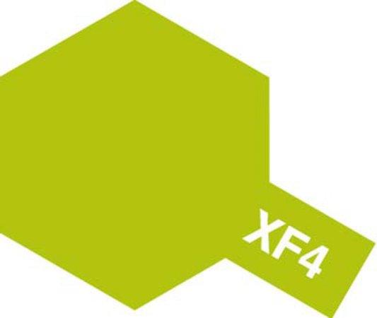 Tamiya Barva akrylová matná - Žluto-zelená (Yellow-Green) - Mini XF-4