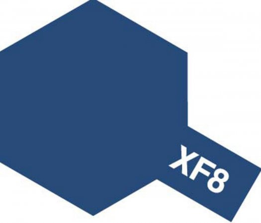Tamiya Barva akrylová matná - Modrá (Blue) - Mini XF-8
