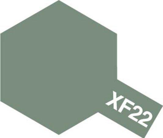 Tamiya Barva akrylová matná - RLM šedá (RLM Grey) - Mini XF-22
