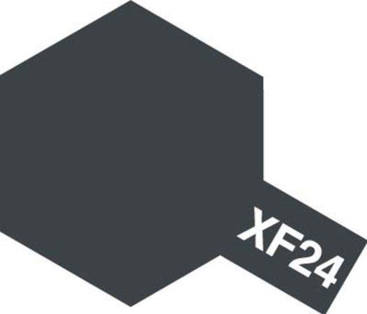 Tamiya Barva akrylová matná - Tmavě šedá (Dark Grey) - Mini XF-24