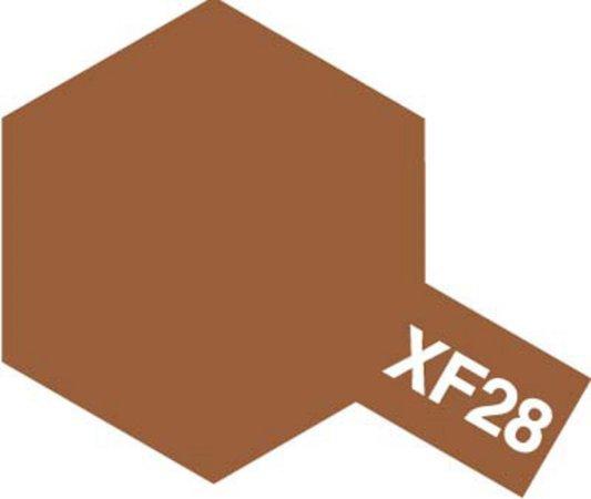 Tamiya Barva akrylová matná - Tmavá měděná (Dark Copper) - Mini XF-28