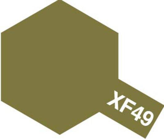 Tamiya Barva akrylová matná - Khaki (Khaki) - Mini XF-49