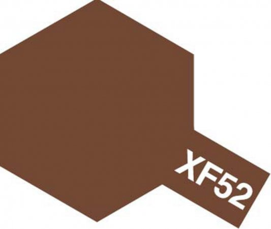Tamiya Barva akrylová matná - Hnědá (Flat Earth) - Mini XF-52