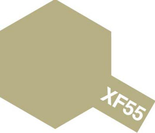Tamiya Barva akrylová matná - Lodní paluba (Deck Tan) - Mini XF-55