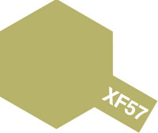 Tamiya Barva akrylová matná - Hnědo-žlutá (Buff) - Mini XF-57