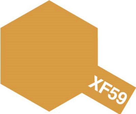 Tamiya Barva akrylová matná - Pouštní žlutá (Desert Yellow) - Mini XF-59