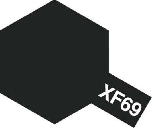 Tamiya Barva akrylová matná - NATO černá (NATO Black) - Mini XF-69