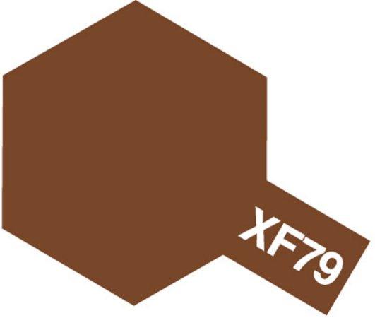 Tamiya Barva akrylová matná - Hnědá (Deck Brown) - Mini XF-79