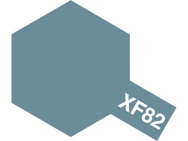Tamiya Barva akrylová matná - Šedo-zelená (Ocean Gray - RAF) - Mini XF-82