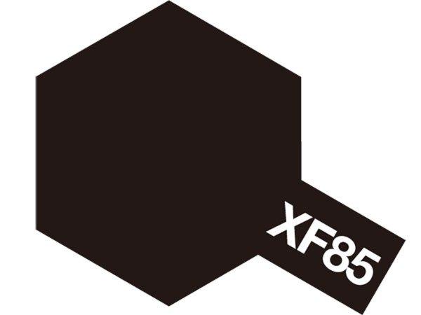 Tamiya Barva akrylová matná - Černá (Rubber Black) - Mini XF-85