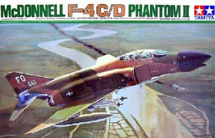 Tamiya McDonnell-Douglas F-4C/D Phantom II