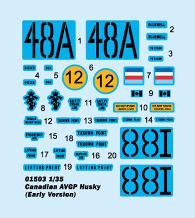 Trumpeter Canadian AVGP Husky [Early Version] - Výprodej