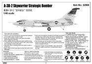 Trumpeter Douglas A-3D-2 Skywarrior - Výprodej