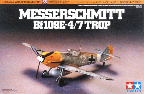 Tamiya Messerschmitt Bf 109 E-4/7 Trop