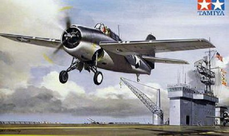 Tamiya Grumman F4F-4 Wildcat