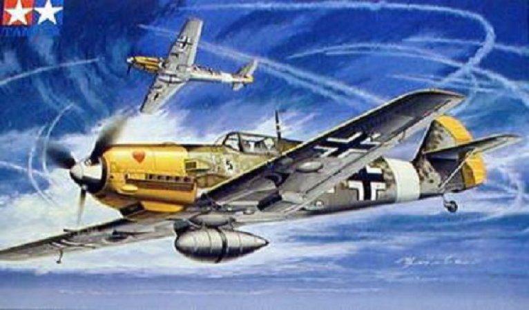 Tamiya Messerschmitt Bf109E-4/7 Trop