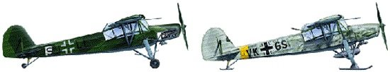 Tamiya Fieseler Fi 156 C Storch