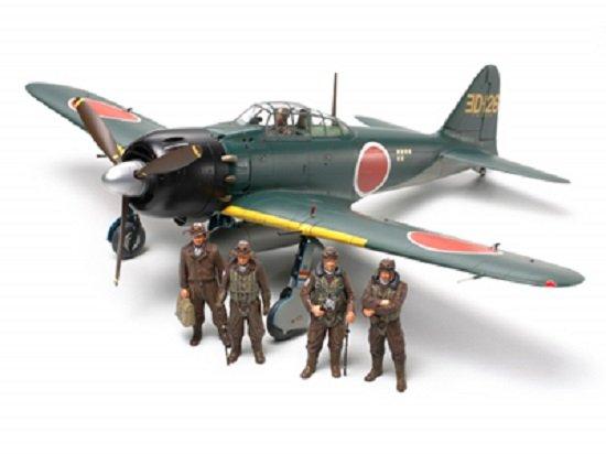 Tamiya Mitsubishi A6M5/5a Zero Fighter (Zeke) Model 52/52 Kou