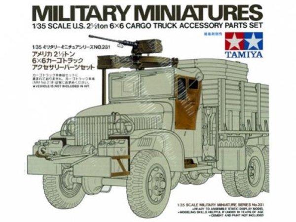 Tamiya U.S. Cargo Truck Accessories Parts Set