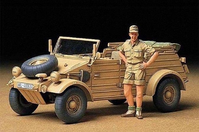 Tamiya German Kubelwagen Type 82 Africa Corps