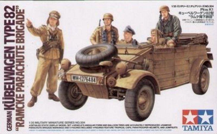Tamiya German Kubelwagen Type 82 - Ramcke Parachute Brigade