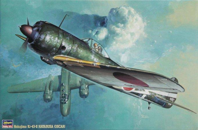 Hasegawa Ki-43-II Hayabusa Oscar