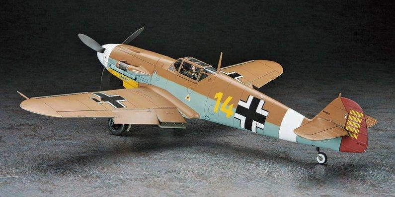 Hasegawa Messerschmitt BF109 F-4 TROP