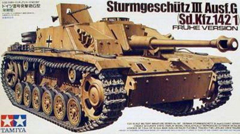 Tamiya German Stug. III Ausf.G Early Version