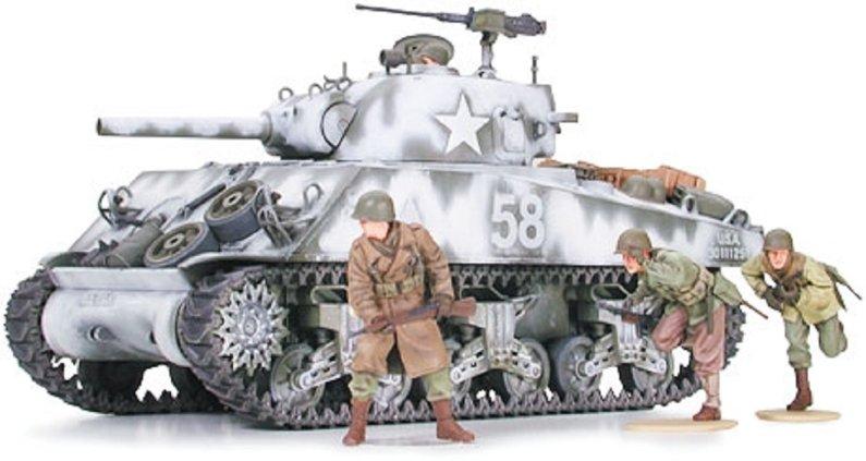 Tamiya U.S. Medium Tank M4A3 Sherman 105 mm Howitzer (Assault Support)