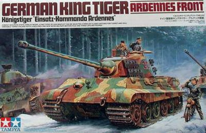 Tamiya German  King Tiger II (Ardennes Front)