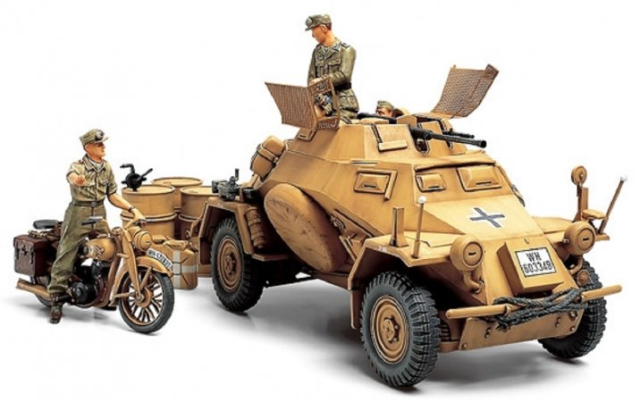 Tamiya German Armored Car Sd.Kfz.222 North African Campaign