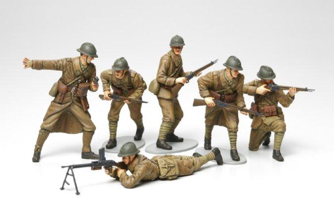 Tamiya French Infantry Set