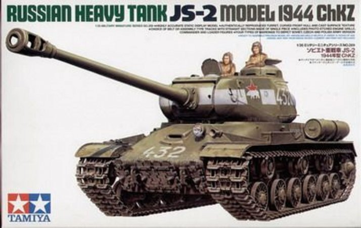 Tamiya Russian Heavy Tank JS-2 Model - 1944 ChKZ