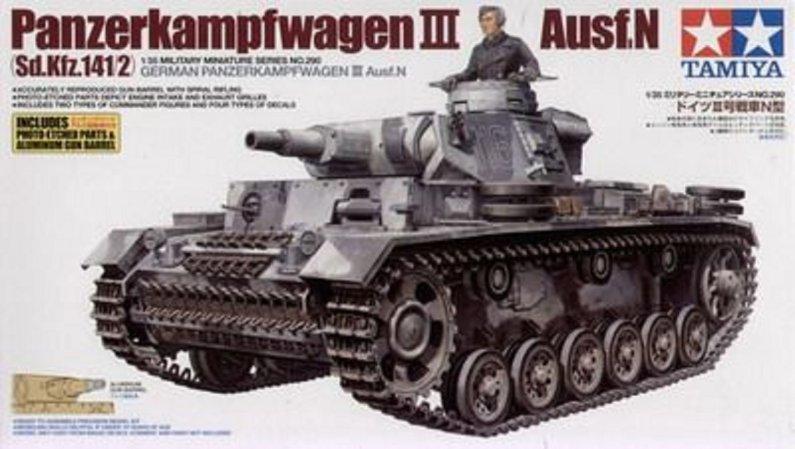 Tamiya German Panzerkampfwagen III Ausf.N (Sd.Kfz.141/2)