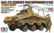 Tamiya German 8-Wheeled Heavy Armored Car Sd.Kfz.232 Africa-Corps