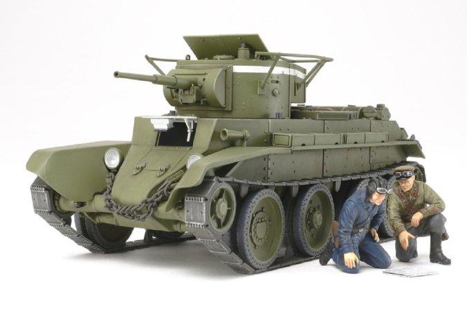 Tamiya Russian Tank BT-7 Model 1935