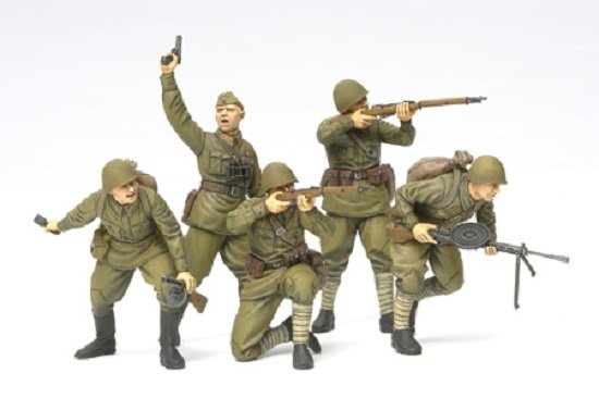 Tamiya Russian Assault Infantry (1941-1942)